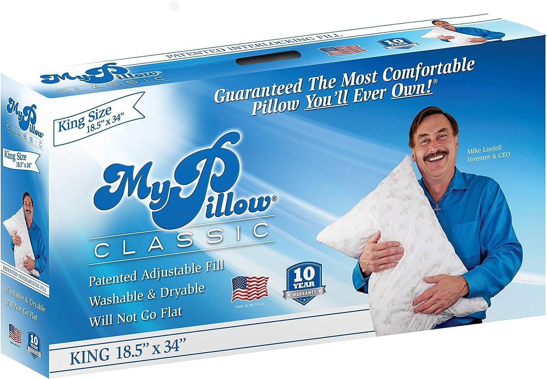 Amazon Com Mypillow Classic Pillow King White Medium Home