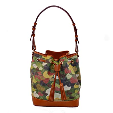 51189c854c1f Dooney   Bourke Camoflauge Duck Signature Drawstring Bag Duck Dynasty   Handbags  Amazon.com