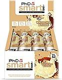 PhD Smart Bar-High Protein Low Sugar Bar, White Choc Blondie, 64 g, Pack of 12