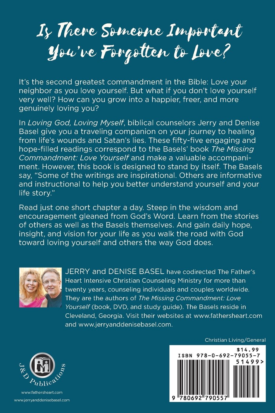 Loving Loving Myself Finding The Heart Of The Father In Our Daily Lives Jerry And Basel  Amazon Com Books