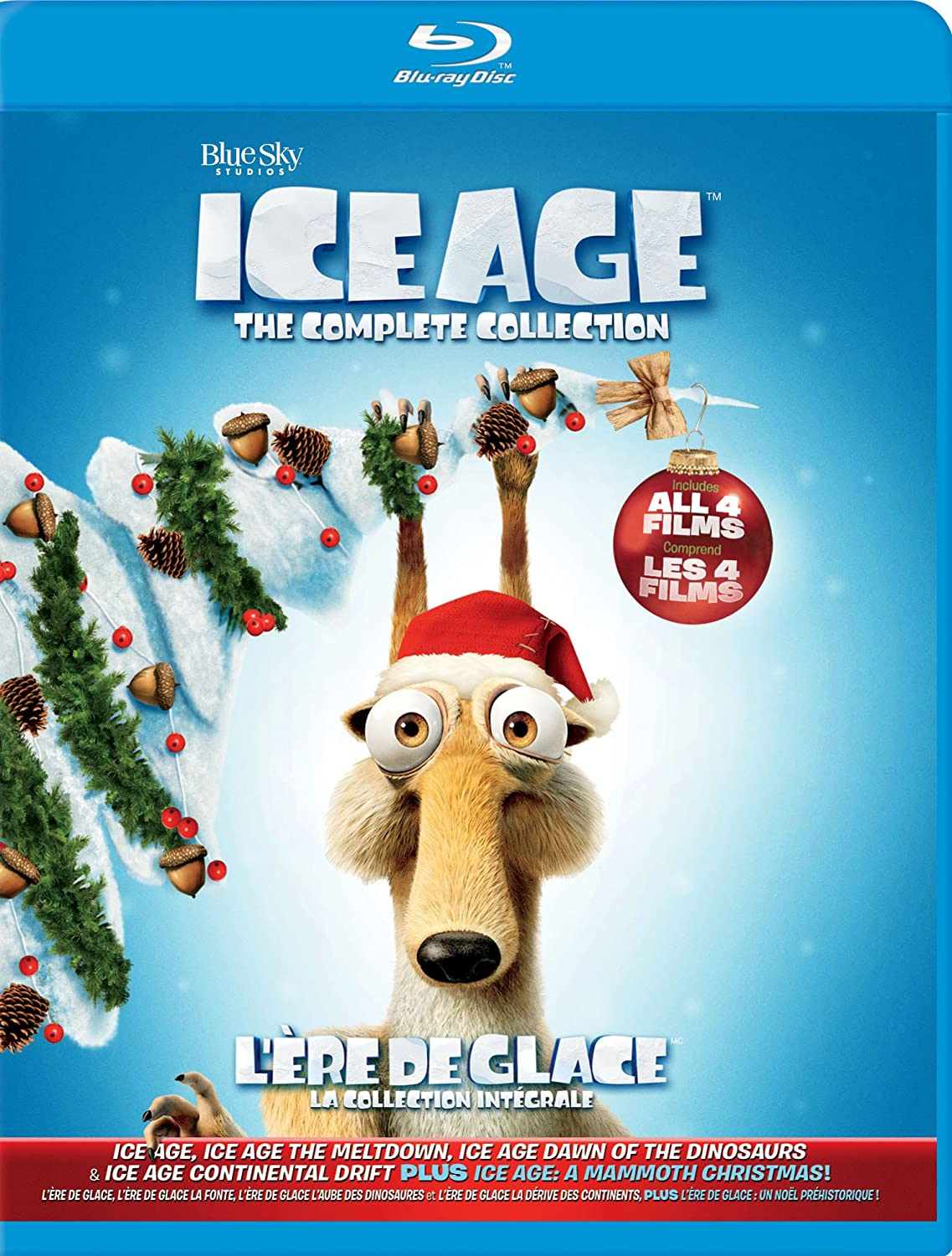 Ice Age Complete Collection Ice Age / Ice Age 2 The Meltdown / Ice ...