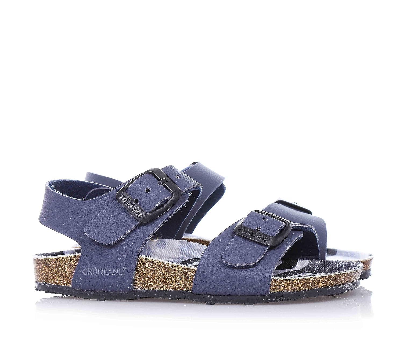 Grunland SB0409-40 Sandalo Bambino Pelle Sintetico Blu Blu 32  Amazon.it   Scarpe e borse ec53e2cef59