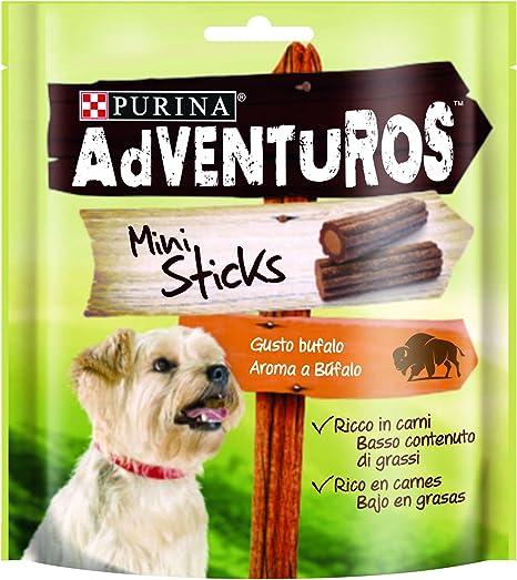 Purina Adventuros Mini Sticks golosinas y chuches natural para ...