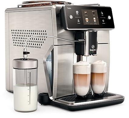 Saeco Xelsis sm7685/00 – Cafetera automática (pantalla táctil de Innovador, acero inoxidable
