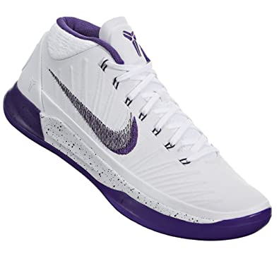 low priced dca1f 4d539 Nike Kobe A.D. Mid Sunday039 s Best Basketball Shoes Kobe Bryant White Court  Purple-Black New 922482-100
