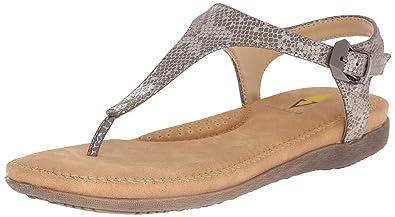 Amazoncom Volatile Womens Reece Dress Sandal Pewter 7 B Us Flats