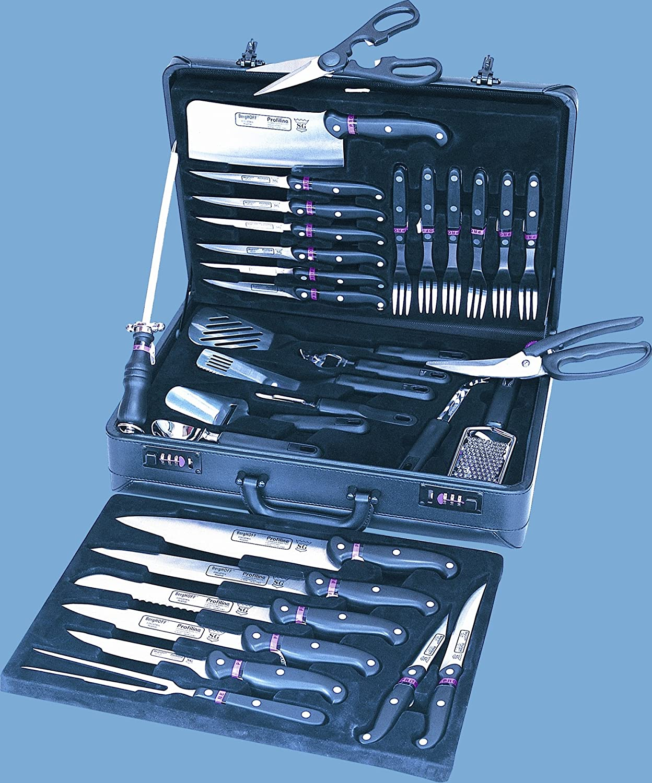Berghoff - Juego de cuchillo funda: Amazon.es: Hogar