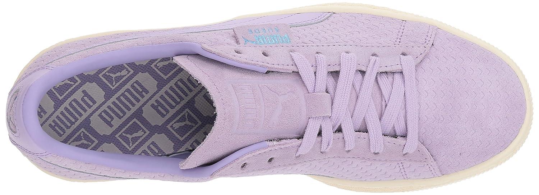 PUMA Women's Suede Classic Perforati WN's Sneaker B076KR228V White 8.5 B(M) US|Purple Rose-whisper White B076KR228V 2169b4