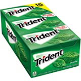 Trident Spearmint Sugar Free Gum 15/14 Piece Packs Total 210 sticks