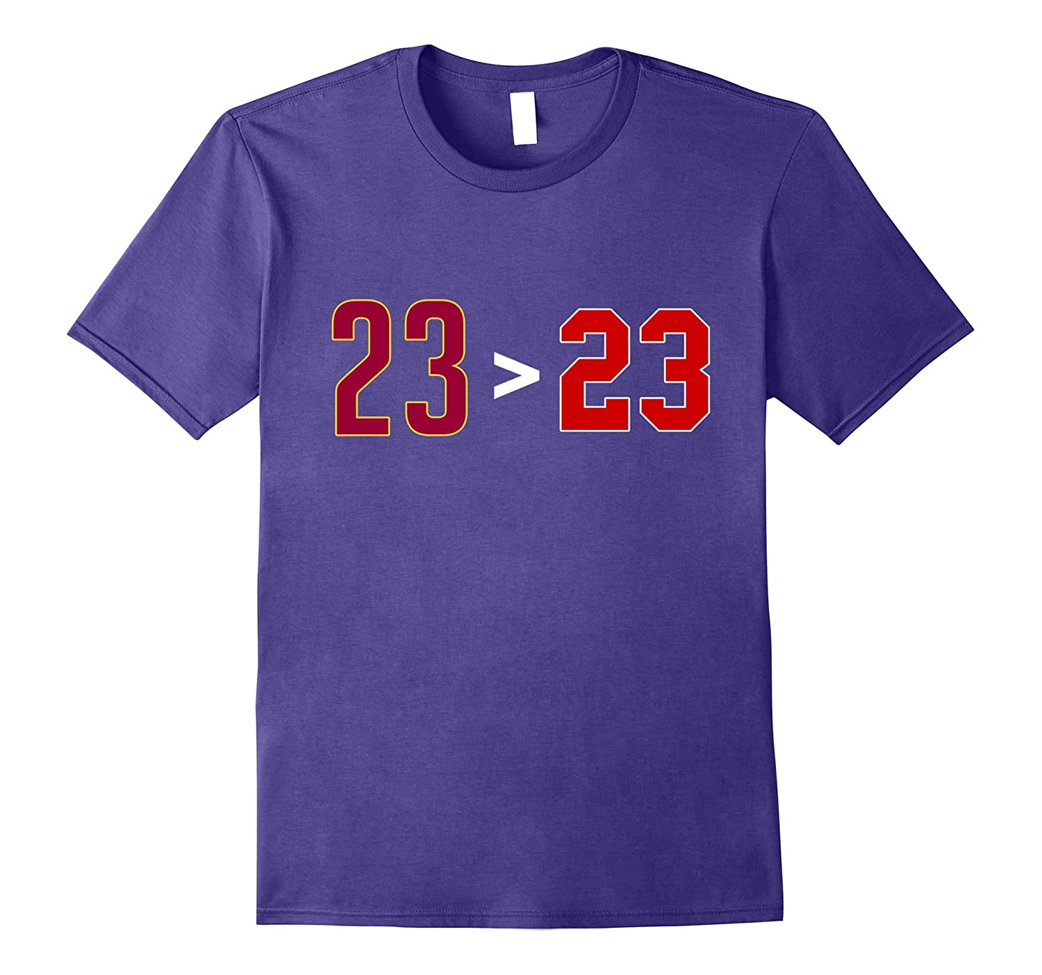 23 Greater Than T-Shirt-TH