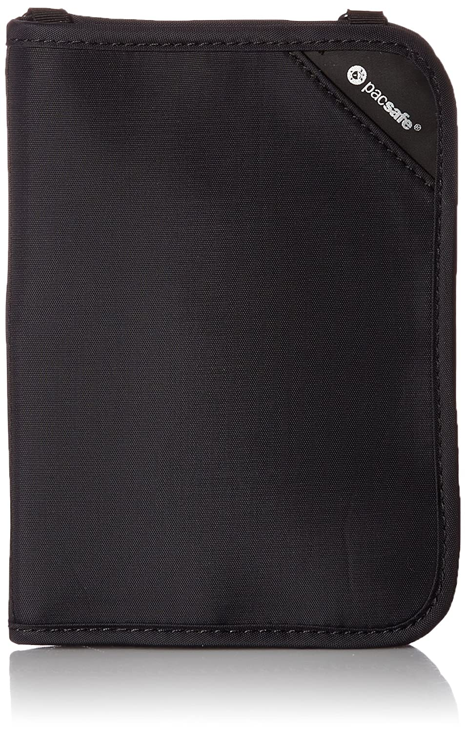 Pacsafe RFIDsafe V150 Anti-Theft RFID Blocking Compact Passport Wallet, Black OUTS2 10561