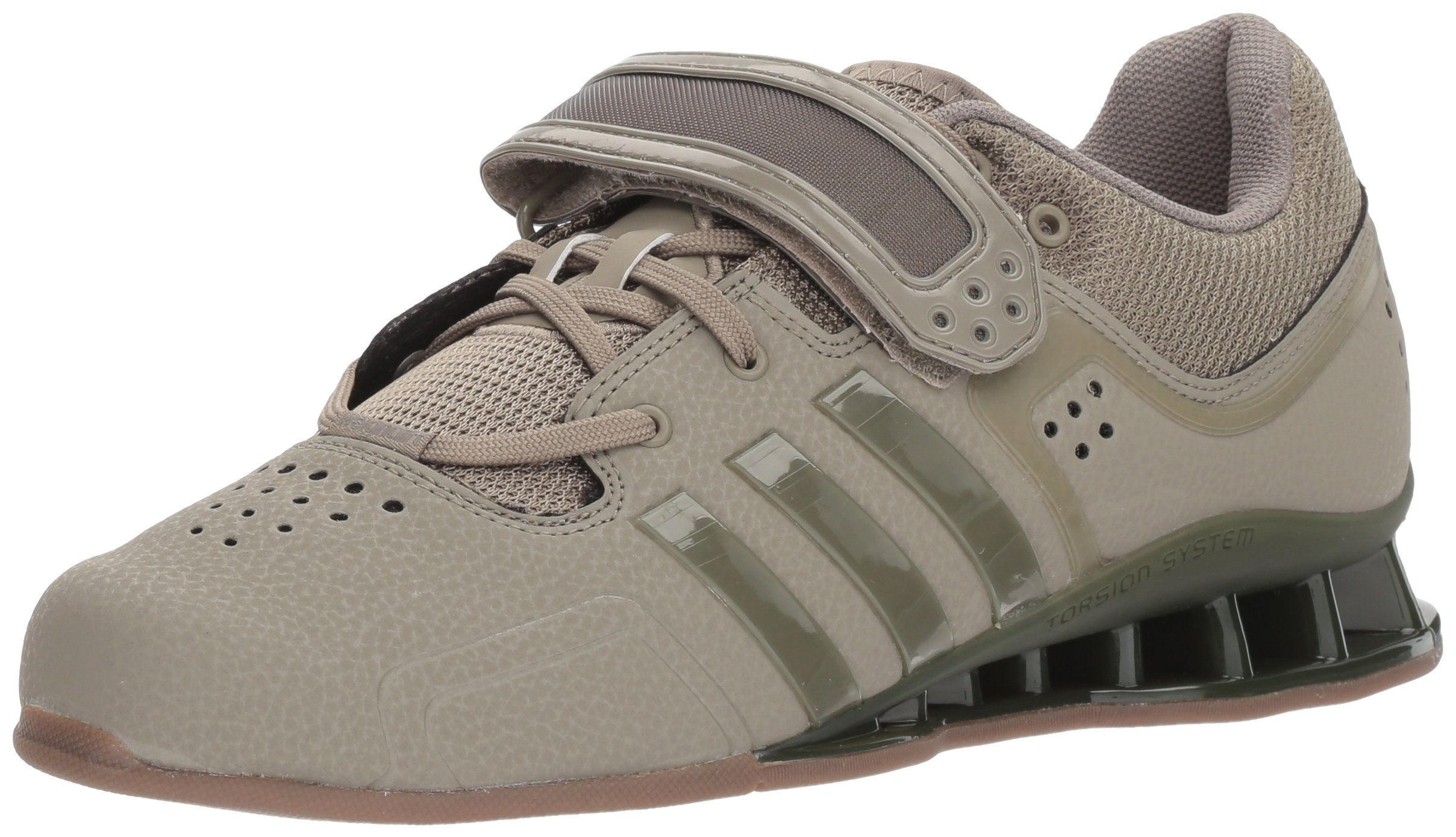 adidas Adipower Weightlift Cross Trainer Trace Cargo/Gum, 14.5 M US