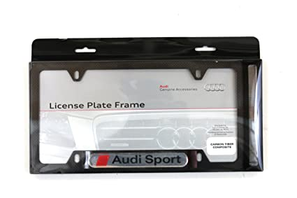 Genuiene Audi Accessories 8K0071801A Carbon Fiber Sport License ...