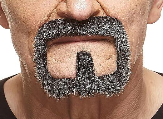 High quality Van Dyke fake self adhesive beard