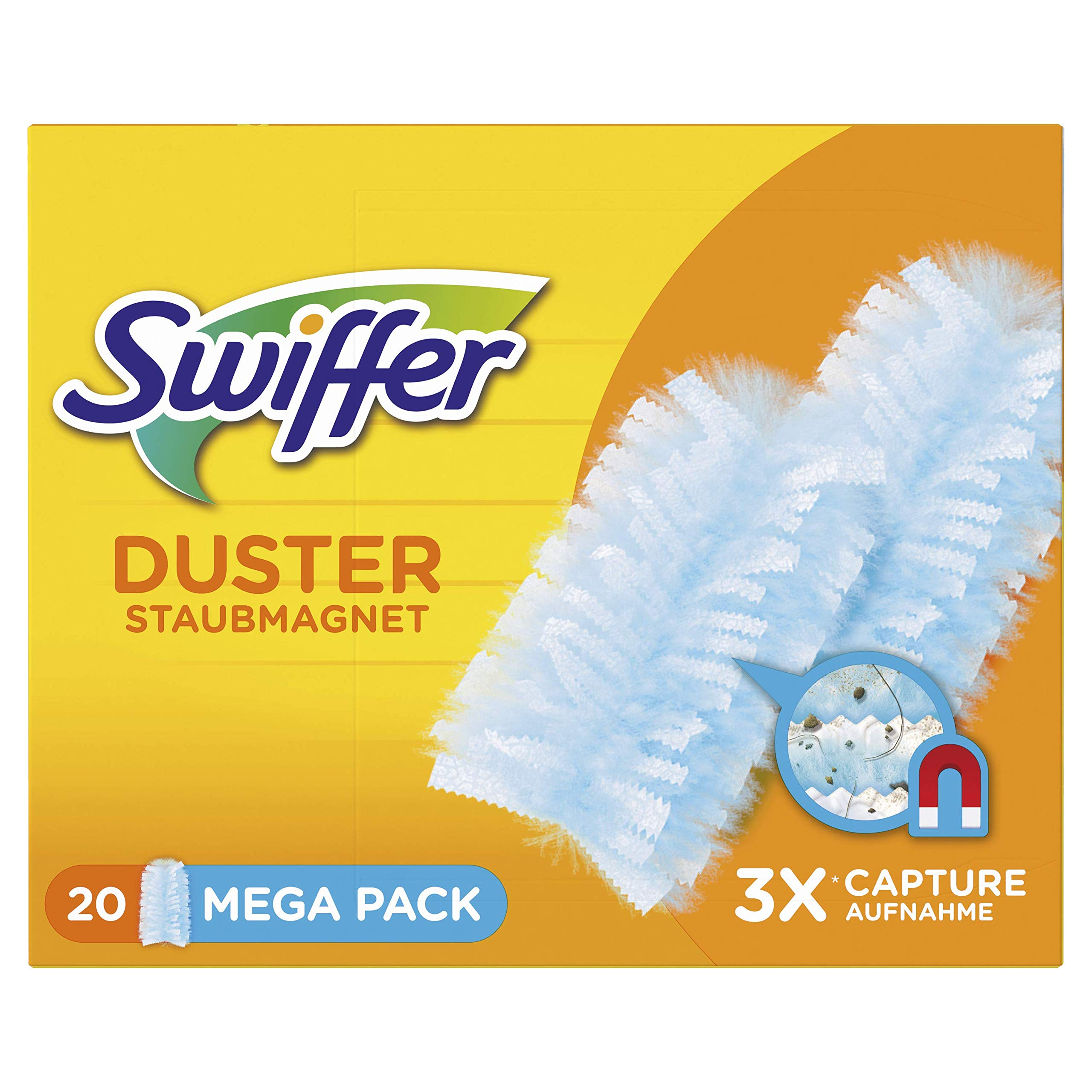 Swiffer Duster, Blue, pack of 20