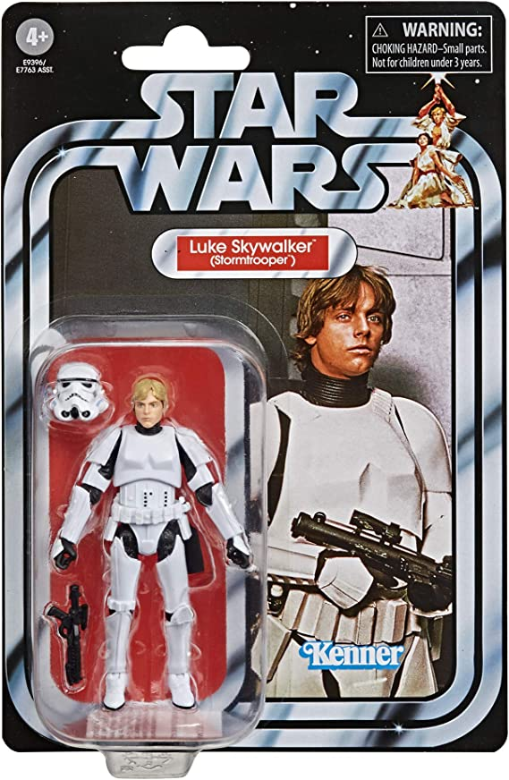 "HASBRO Star Wars Vintage Collection 3 3//4/"" Luke Skywalker Stormtrooper VC169 Comme neuf on Card"