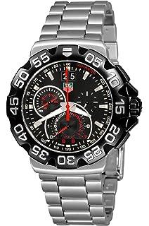 TAG Heuer Mens CAH1010.BA0854 Formula 1 Grande Date Chronograph Watch