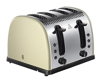 Russell Hobbs Legacy 4-Slice Toaster 21302 Cream
