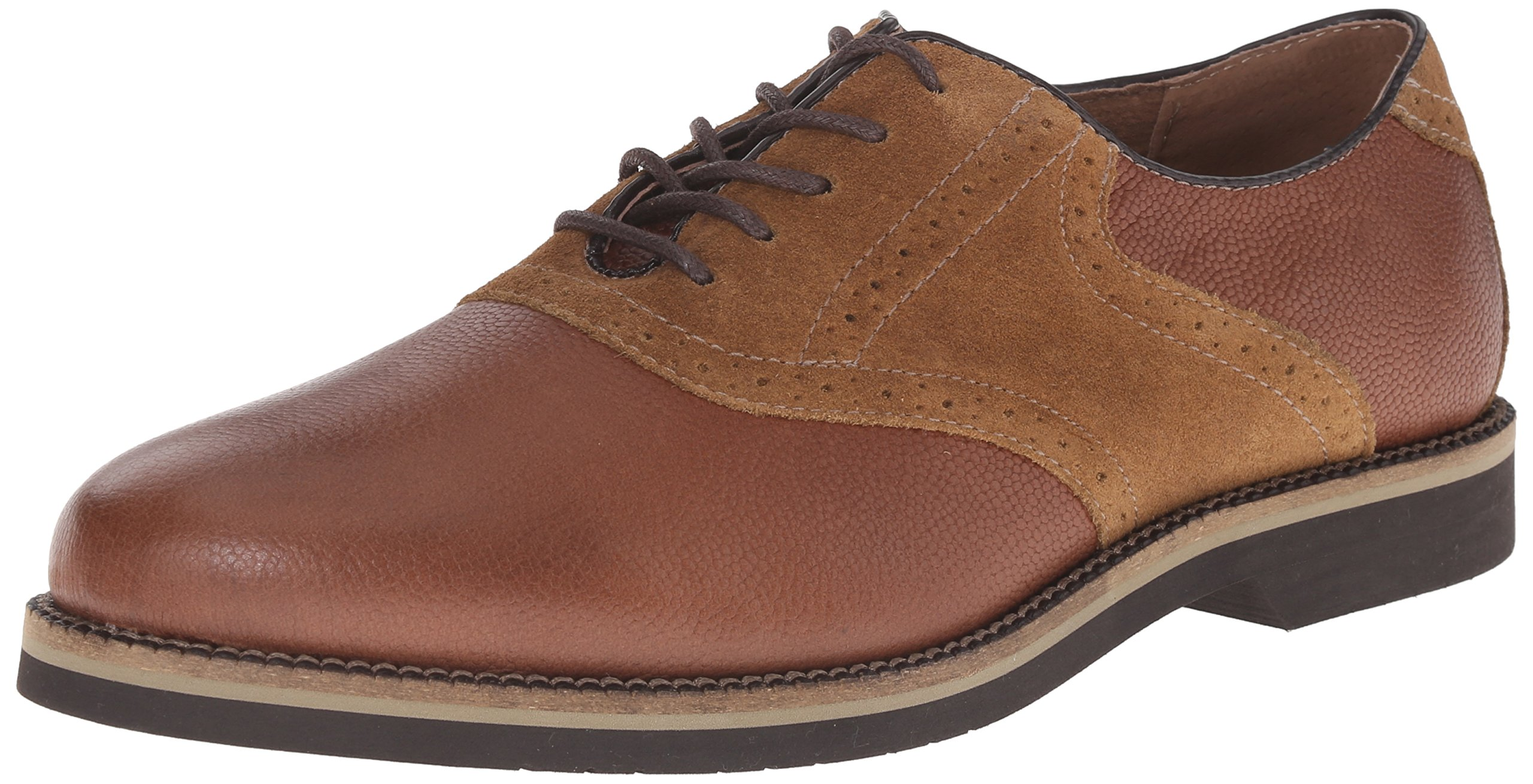 G.H. Bass & Co. Men's Burlington Oxford, Mocca/Mocca, 7 M US