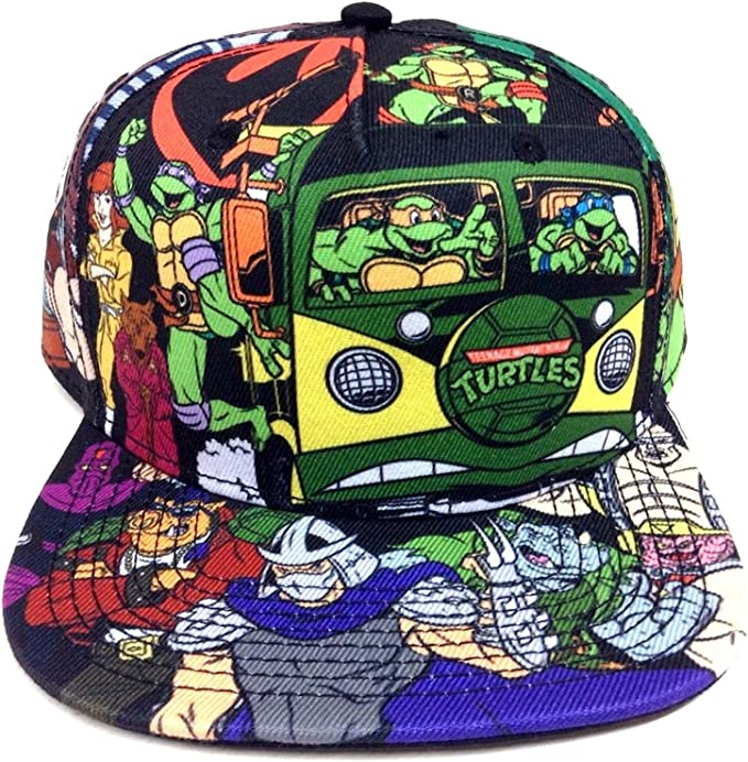 Amazon.com: Teenage Mutant Ninja Turtles All Over Print ...