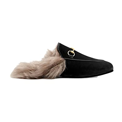 Gucci - Mocasines para Mujer Negro Negro IT - Marke Größe b555c54aff3