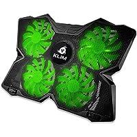 Klim Viento portátil PC Cooler - el más Potente - Refrigeración rápida acción - 4 Ventiladores ventilado Soporte Gamer…