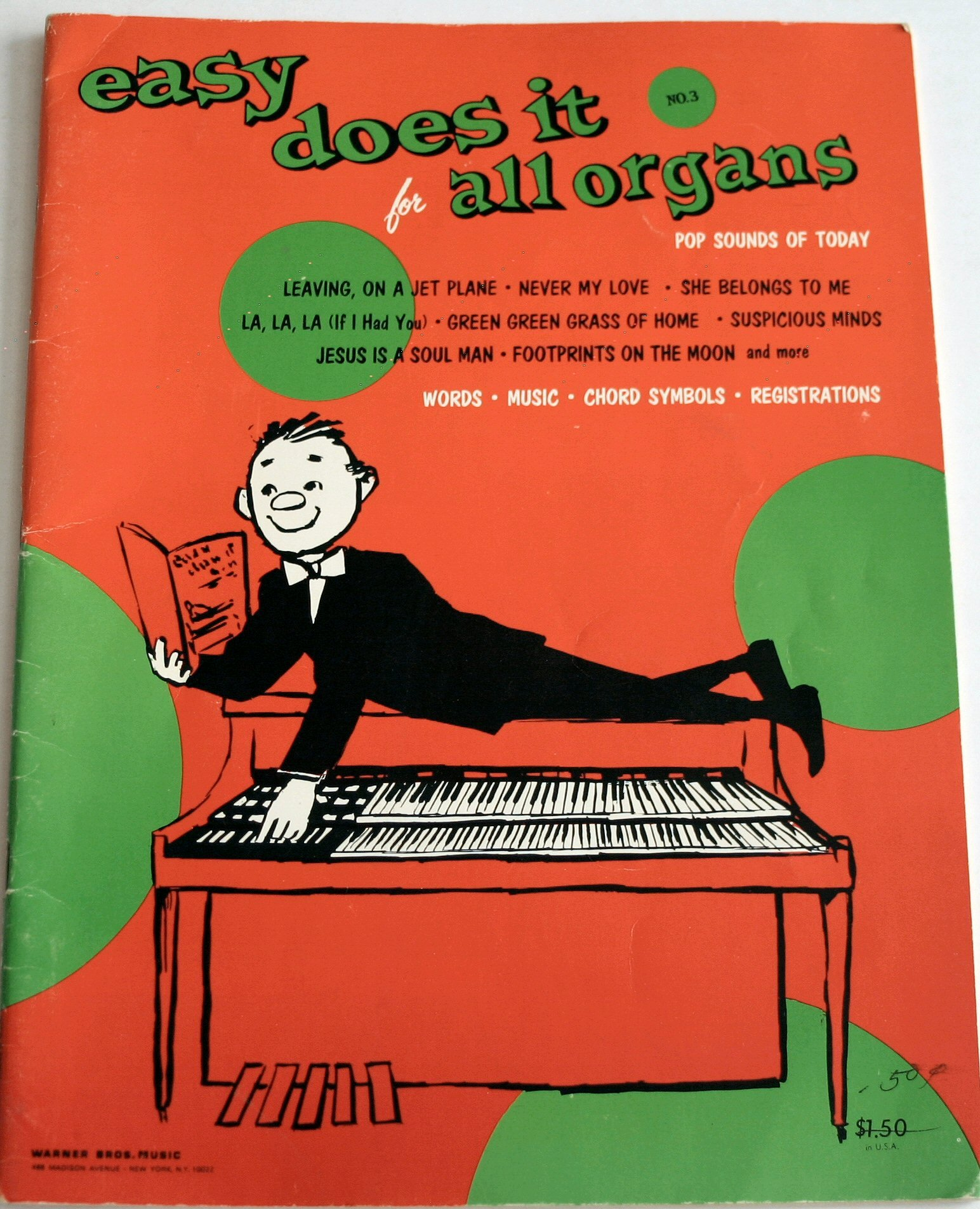 easy does it for all organs no 3 pop sounds of today