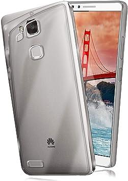 moex Huawei Mate 7 | Hülle Silikon Transparent Klar Clear Back-Cover TPU Schutzhülle Dünn Handyhülle für Huawei Ascend Mate 7