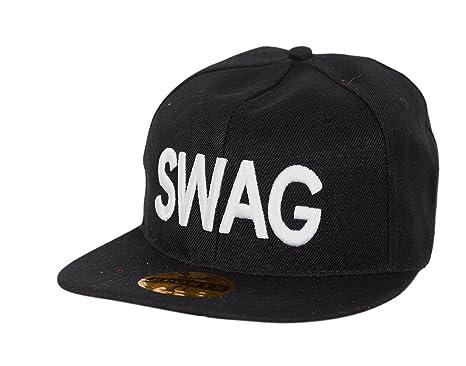 83ab6b696f597 Krystle Boy s Cotton Swag Hip Hop Cap (KRY-Black-Swag-Cap-B