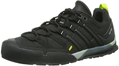 5a58413e462 adidas Men s Terrex Solo High Rise Hiking Boots