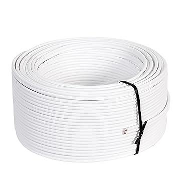 Misterhifi 50 m Lautsprecherkabel 2 x 2,5 mm²: Amazon.de: Elektronik