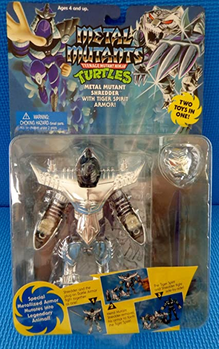 Amazon.com: clásico 1995 metal de las Tortugas Ninja ...
