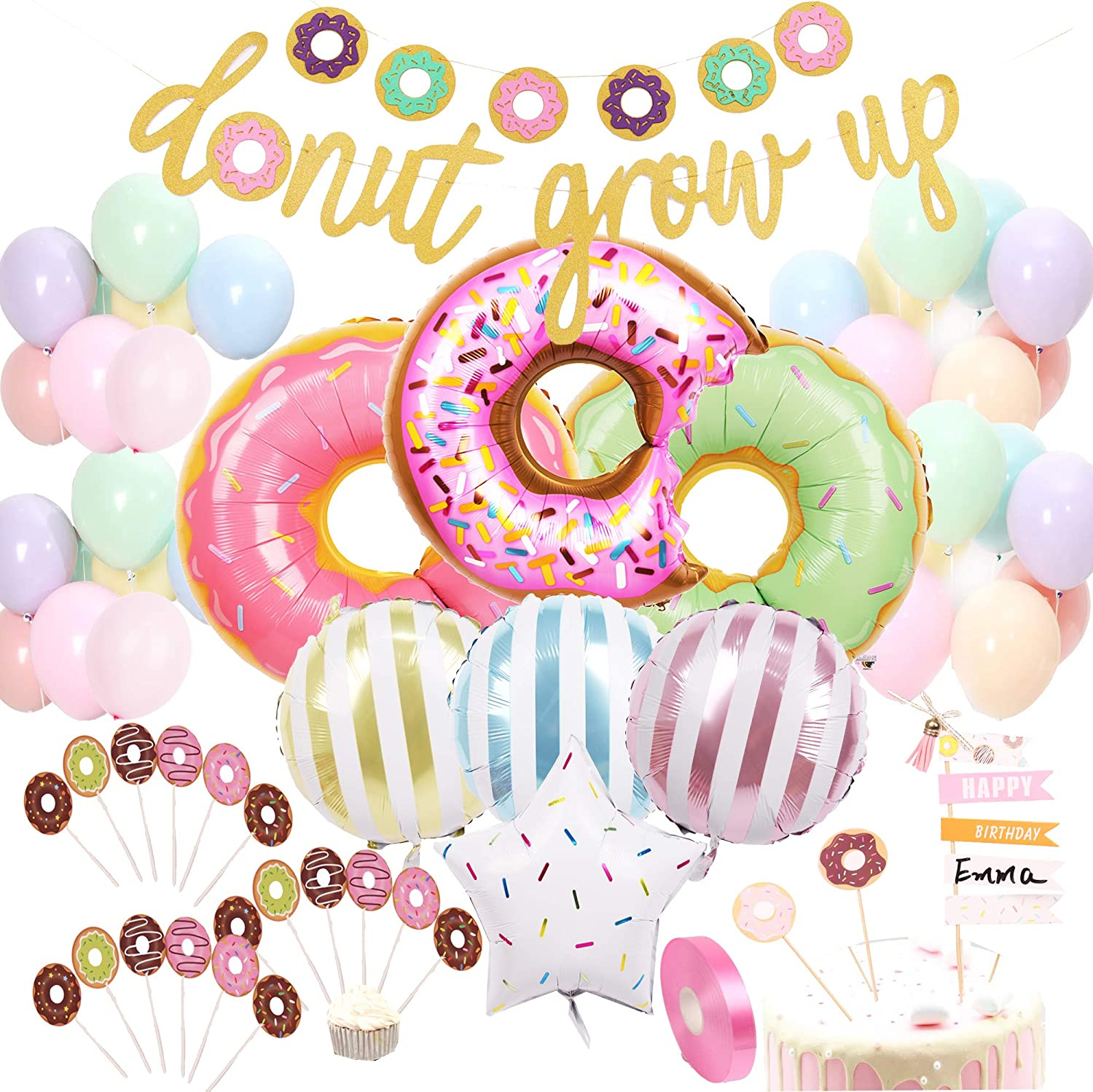 Donut party Balloons
