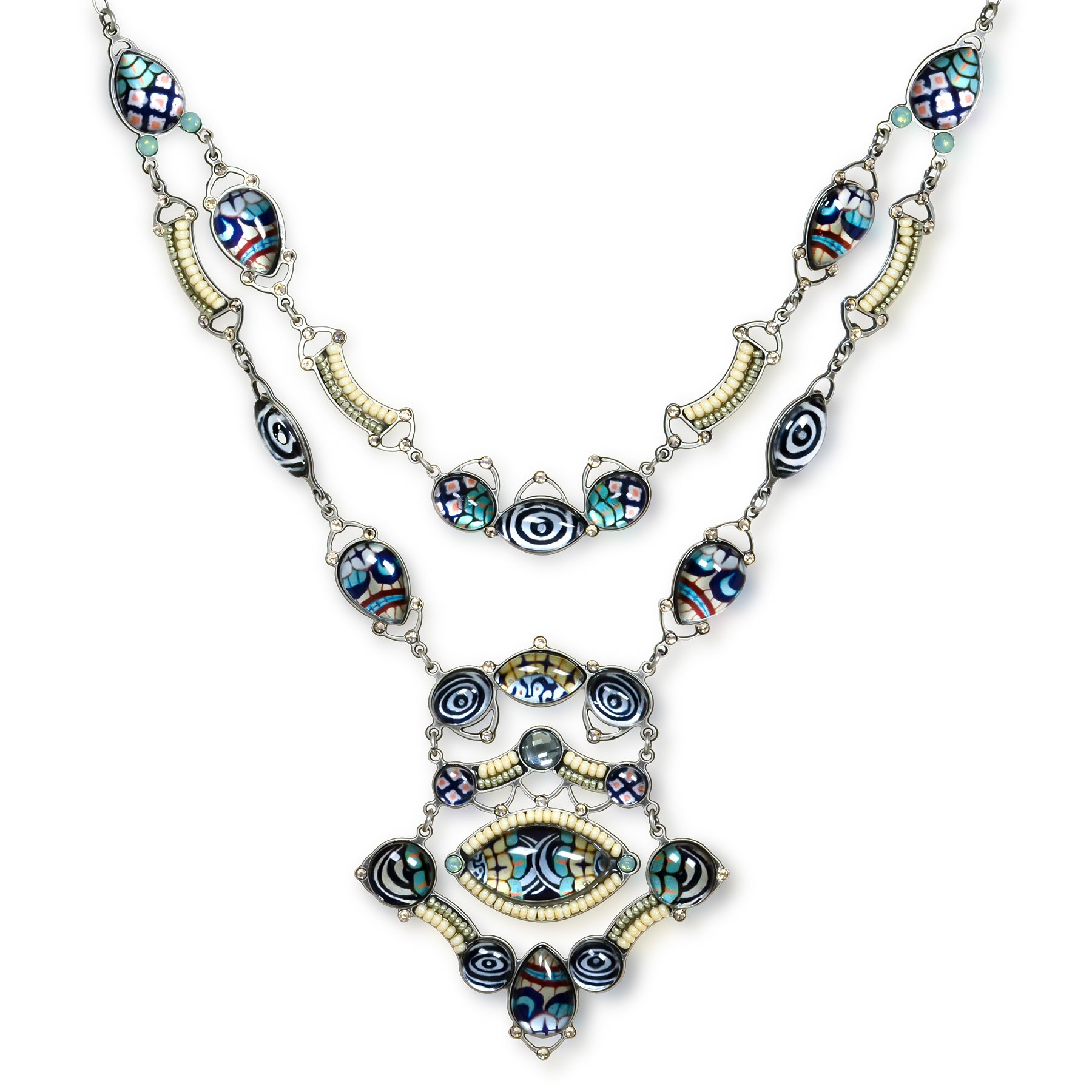 Bel-De-Jour Fashion Necklace, from the Artazia Spring-Summer Collection - N3610
