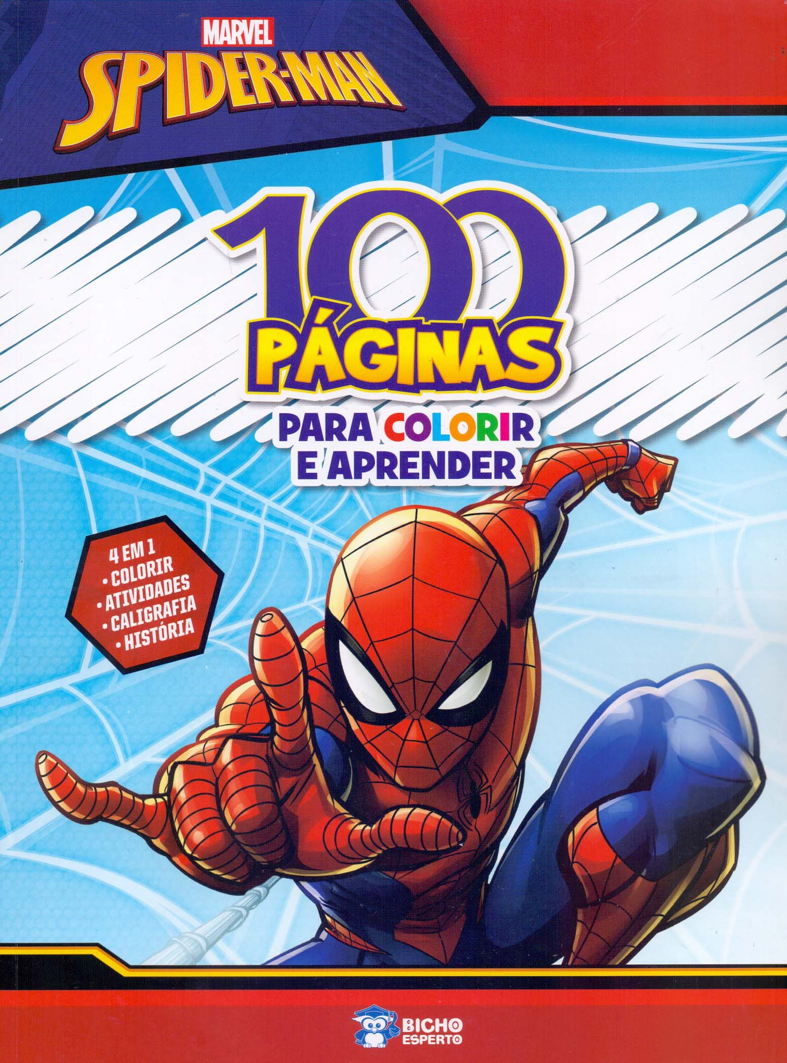 100 Paginas Para Colorir Disney Homem Aranha Jefferson