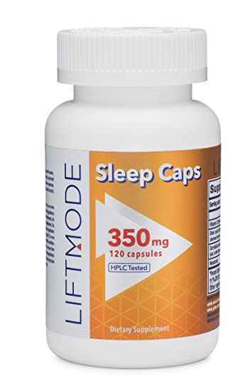 LiftMode Nighttime Sleep Aid Capsules - Melatonin, Oleamide, Vitamin C, L-THP