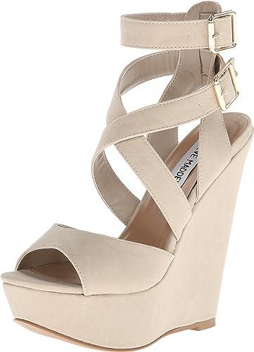 3ca67db8288 Steve Madden Women s Xfoliate Wedge Sandal
