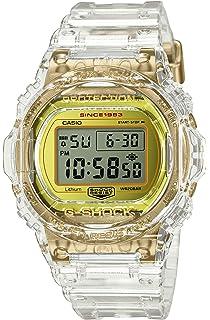 Casio G-Shock DW-5735E-7JR Glacier Gold 35th Anniversary Clear Skeleton Shock