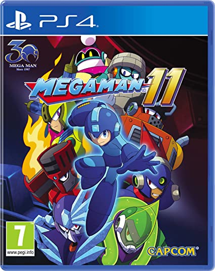 Megaman 11 para PlayStation 4 - Edición Estándar: Amazon.es ...