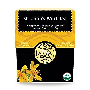 Amazon.com : Organic St. John\'s Wort Tea - Kosher, Caffeine-Free ...