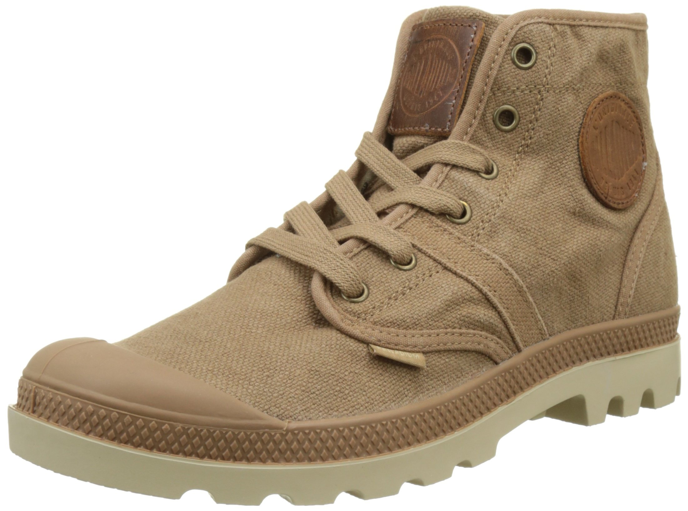 Palladium Men's Pallabrouse LC Boots, Brown, 12 US
