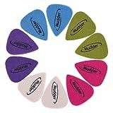 10 Pieces Felt Picks, Mudder Guitar Picks Plectrums for Ukulele, Multi-color