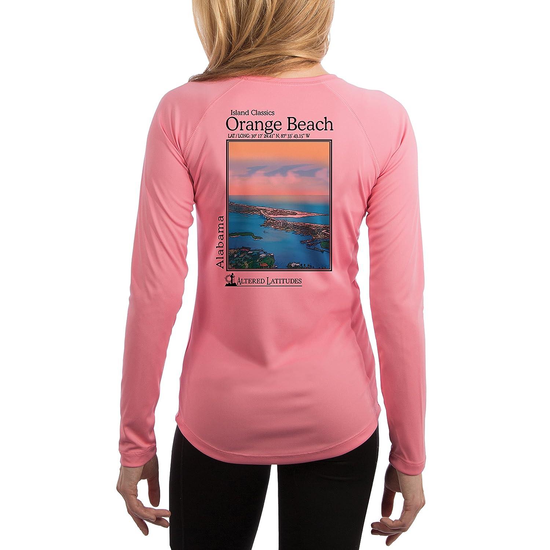 Altered Latitudes Island Classics Women's Orange Beach UPF Performance T-shirt