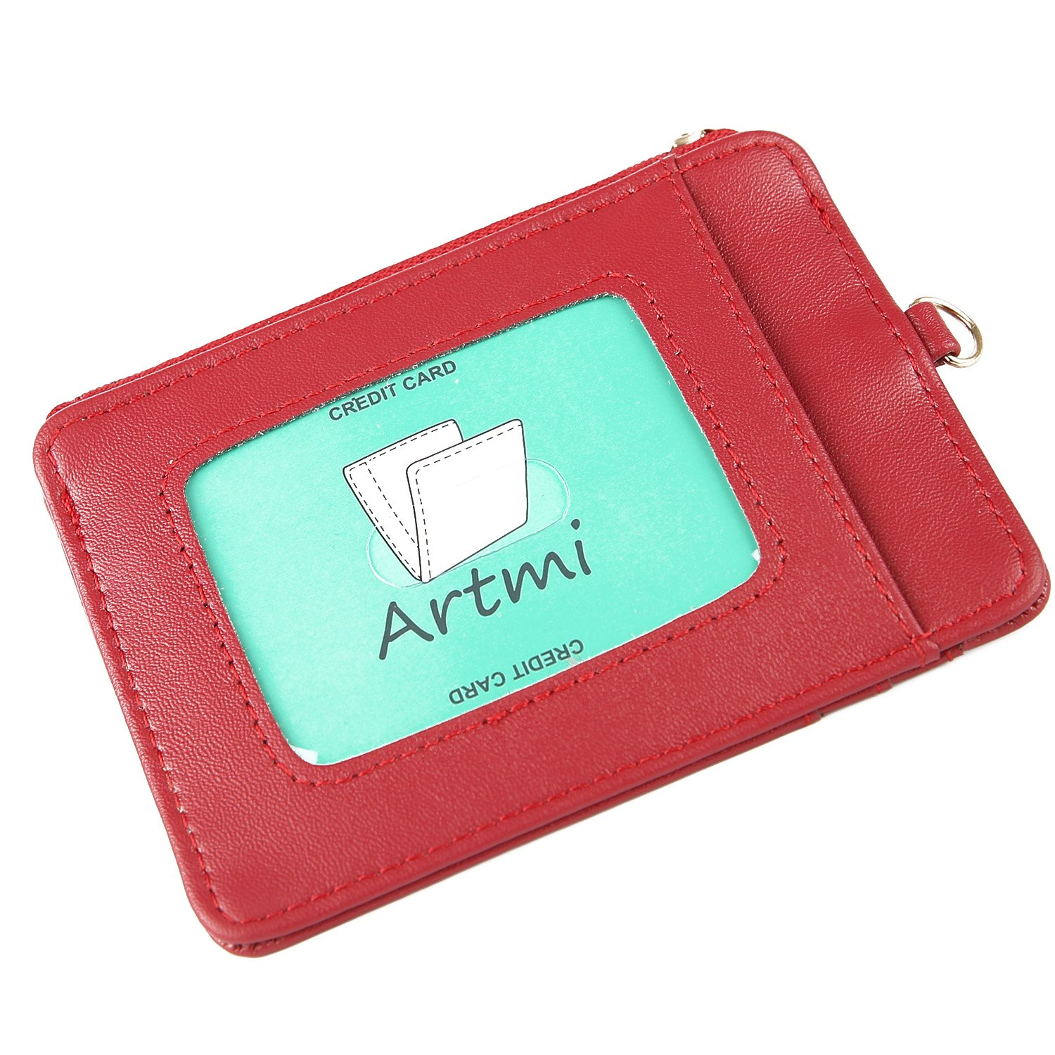 Artmi Womens Card Case Wallet RFID Card Holder Compact Purse AW051-1-2