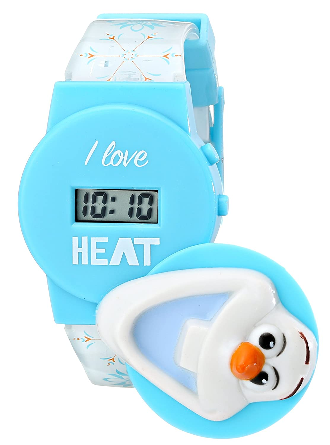 Amazon.com: Disney Kids\' FNFKD042 Frozen Olaf Musical Watch ...