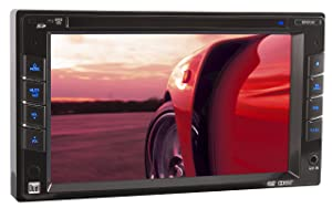 Dual XDVD1262 In-Dash 6.2-Inch Double DIN DVD/MP3/WMA Car Stereo Receiver withDirect USB iPod Control and SD Card Reader