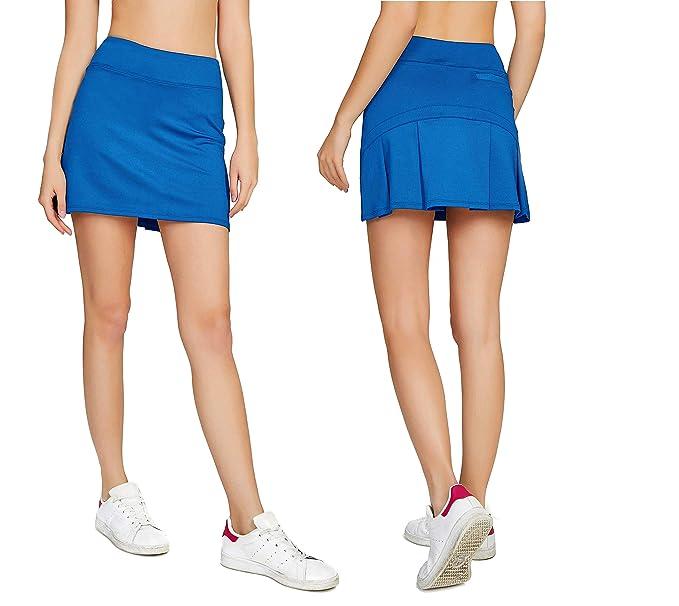 Falda azul rey deportiva para damahttps://amzn.to/2t7bfM7