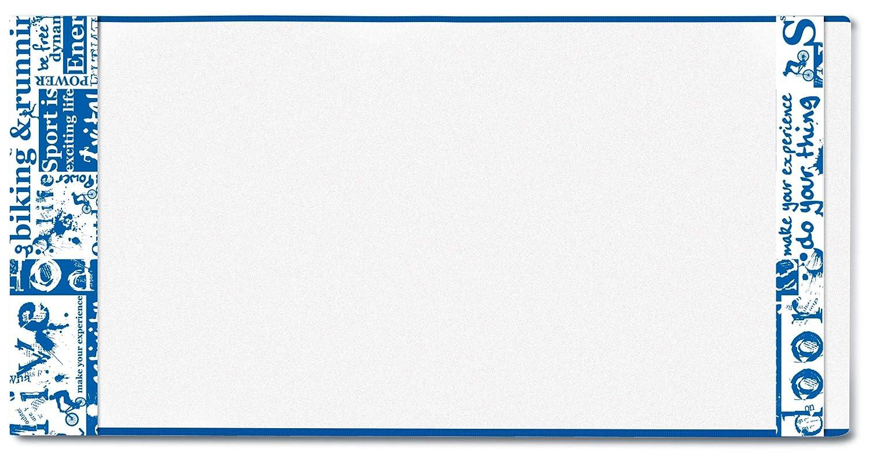 HERMA 20220 Buchumschlag HERM/ÄX Classic Buchh/ülle aus robuster Folie mit Namensetikett 3er Set Buchschoner f/ür Schulb/ücher Gr/ö/ße 27 x 54 cm, transparent