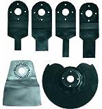 Einhell BTMG180SET - Set de cuchillas básico para herramienta multifunción