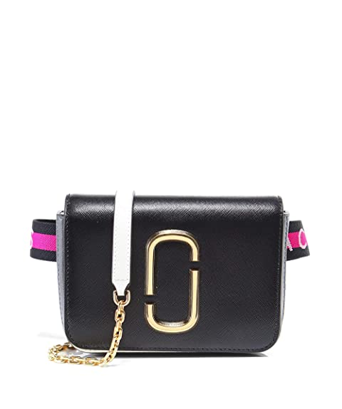 20cf362db3 Marc Jacobs Da Donna Hip Shot borsa Nero Unica Taglia: Amazon.it ...